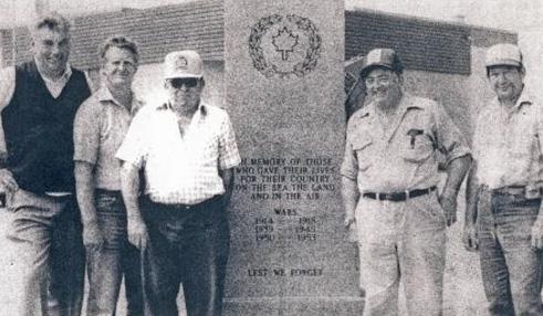 Waterdown Legion's Cenotaph